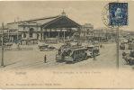Santiago Estacion Principal De Los Ferrocariles Gare  Tramways Tranvia No 708 Carlos Brandt - Chili