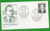 18652  Italia,    Pieve  Tesino(TN), Alcide De Gasperi(1881-1954), Giorno  Di  Emissione 1881-1954, - Affrancature Meccaniche Rosse (EMA)