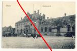 AK Thorn (polnisch Toruń) - Stadtbahnhof - Gelaufen 1914 - Stempel Ers.-B. L.I.Regiment 107, Gelaufen Nach Crimmits - Westpreussen