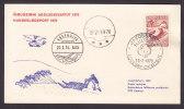 Greenland Hundeslædepost Dog Sledge Post 1970 JAKOBSHAVN Ilulissat RODEBAY - Ok´aitsut Falcophil 1970 Card (Cz. Slania) - Groenlandia