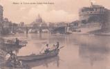 ITALIE - ROME - ROMA - Il Tevere Presso Castel Sant' Angelo. Voyagée 1912 - Roma (Rome)