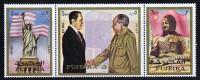 FUJEIRA  1972  Voyage Du Président Nixon En Chine   Série Complète ** MNH - Fujeira