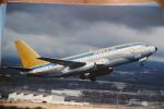 AIR BERLIN USA  B 737 210   N491WC   LAS PALMAS 1982 - 1946-....: Moderne