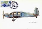 CP Maximum Aviation Strasbourg Avion Caudron Simoun 29 Juin 1979 Aviation Postale Intérieure - 1970-79