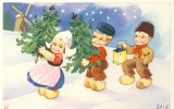 Carte Nederland Children  - Enfants / Kinderen / Children - Série Colorprint 2115 - Enfants
