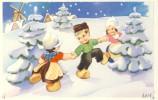 Carte Nederland Children  - Enfants / Kinderen / Children - Série Colorprint 2115 H - Enfants