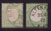 DR Minr.2a, B Gestempelt - Deutschland