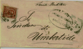 1897 Regno Italy Collettoria Da Grosseto Per Umbertide - 1900-44 Vittorio Emanuele III