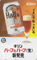 Télécarte Japon - Boisson Alcool BIERE KIRIN - BEER Japan Phonecard - BIER Telefonkarte - CERVEZA - 385 - Alimentación