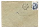 1948 France Single Franked Strasbourg To Kettenhofweig U S Zone Germany - France
