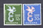 Europa  -  1957  :  Saarland  ** - Europa-CEPT