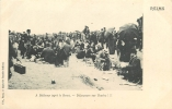 51 MANOEUVRES FRANCO RUSSES 1905 BETHENY DEJEUNERS SUR L'HERBE - Manovre