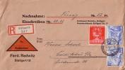 DR R-NN-Brief Mif Minr.2x 742,770 Stuttgart 5.12.41 - Briefe U. Dokumente