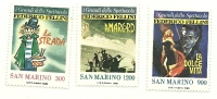1988 - San Marino 1233/35 Federico Fellini