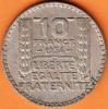 PIECE MONNAIE 10 FRANCS 1934  - GRAVEUR TURIN  - ARGENT  - 3ième REPUBLIQUE 1871 - 1940 VOIR LES SCANS... - France