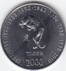 LOT N° 9170 J *SOMALIE**10 SHILINGS*SIGNE ASTROLOGIQUE ANIMAL*TIGRE* ANNEE 2000*FDC-UNC* - Somalie