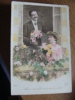 Vieux Carte, Avec Nos Bons Souvenirs - Fêtes - Voeux
