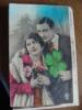 Vieux Carte - Homme Et Femme, L'amour - Saint-Valentin