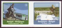 Belgique COB 4054 à 4055 ** (MNH) Non Dentelé à Gauche Et à Droite - Unused Stamps