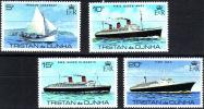 ( 1622 )  Tristan Da Cunha - Transport - Ships . - Ships