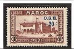 AU PROFIT DES OEUVRES DE L'ENFANCE  N°  Surchargés  N° 155 * Charnière - Unused Stamps