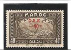 AU PROFIT DES OEUVRES DE L'ENFANCE  N°  Surchargés  N° 156 * - Unused Stamps