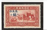 AU PROFIT DES OEUVRES DE L'ENFANCE  N°  Surchargés  N° 157 * - Unused Stamps