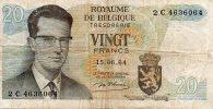 Royaume De Belgique Vingt Francs - [ 6] Treasury