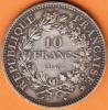 PIECE MONNAIE 10 FRANCS 1965 TYPE HERCULE - GRAVEUR DUPRE - ARGENT  - 5ième REPUBLIQUE 1959  VOIR LES SCANS... - France