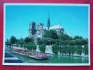 V6-75-paris-notre Dame  Et La Seine-- - Notre Dame De Paris
