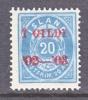 Iceland 47  * - 1873-1918 Danish Dependence