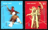 ! ARGENTINE / ARGENTINA: Mi #3243-44 Yv #2765-66 Joint Issue With Armenia - Dances (2008) MNH / Neufs *** - Joint Issues