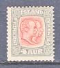 Iceland  71  Fault   * - 1873-1918 Danish Dependence