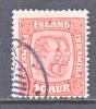 Iceland  104  (o) - 1873-1918 Danish Dependence