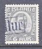 Iceland  113   (o) - 1918-1944 Autonomous Administration