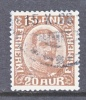 Iceland  119   (o) - Used Stamps
