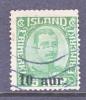 Iceland  139  (o) - 1918-1944 Autonomous Administration