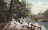 Matlock Bath - Lovers' Walks And River Derwent, ± 1910 - Derbyshire