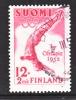 Finland  B 110-3  (o)  OLYMPICS  DIVER - Finland