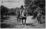 OOSTDUINKERKE BAINS Retour Pêche Crevette Cheval Filets Paniers 1926 état Superbe - Oostduinkerke