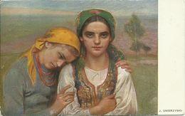 AK Polen Polnische Frauen Typen J. Unierzyski 1914 #01 - Europe