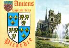 Carte Postale 80. Amiens  Capitale De La Picardie Trés Beau Plan - Amiens