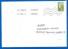 Timbre Sur Lettre (7051) - Marcophilie (Lettres)