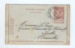 Carte-Lettre Fine Barbe Cachet à Etoiles RELAIS CARLSBOURG (PALISEUL) 1899 - NIPA 600 X 3  --  B8/160 - Postmarks With Stars