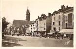 Aurillac-l´église Notre Dame Aux Neiges Et La Place Du Palais-cpsm - Aurillac