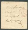 LAC D'OSTENDE Le 4 Janvier 1834 Vers Brugge. - 6995 - 1830-1849 (Belgique Indépendante)