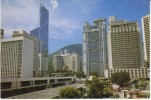 Hong Kong, Downtown Skyscraper Building Architecture, C1980s Vintage Postcard - China (Hong Kong)