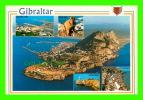 GIBRALTAR - 5 MULTIVIEWS ON THE CITY - ROCK PHOTOGRAPHIC SERVICE - - Gibraltar