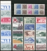 Sweden  Combinations Accumulation 1967 And Up Unused - Sweden