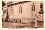 04 SAINT MICHEL  L´OBSERVATOIRE  PLACE DE L'EGLISE TRES ANIMEE - France